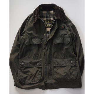 Barbour - vintage Barbour  BEDALE  C34 3ワラント バブアー