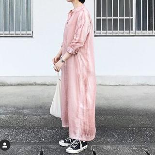 nest Robe - 【mizuiroind】pigment dyed ワンピース