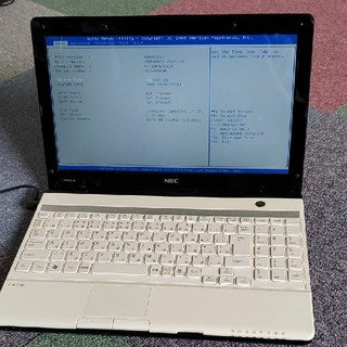 NEC - ジャンク品。NECノートパソコン