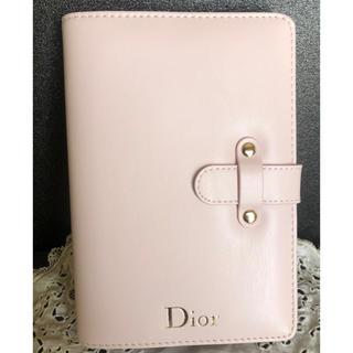 クリスチャンディオール(Christian Dior)のDior ノベルティ ノート ピンク色が可愛い(ノート/メモ帳/ふせん)