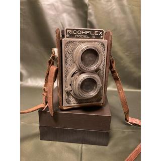リコー(RICOH)の二眼レフカメラ アンティーク (フィルムカメラ)
