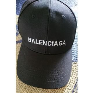 バレンシアガ(Balenciaga)の最終お値下げ◎未使用☆ロゴ入りキャンプ(キャップ)