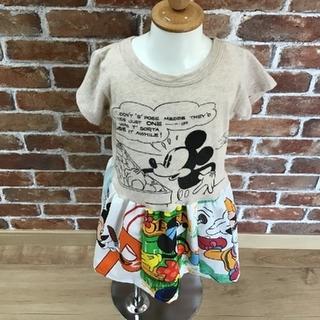 ディズニー(Disney)のリメイクワンピース(ファッション雑貨)
