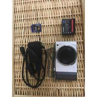 カシオ(CASIO)の【中古】CASIO製デジカメ ZR-700(コンパクトデジタルカメラ)