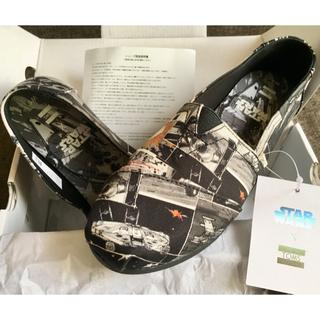 トムズ(TOMS)の値下げ!【新品未使用】TOMSxStar Wars 限定 23cm スリッポン(スニーカー)