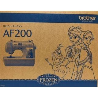 brother - 希少品新品未開封品brotherAF200アナ雪コンピュータミシン