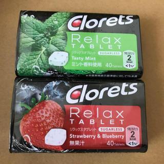 クロレッツ リラックス タブレット2種(口臭防止/エチケット用品)