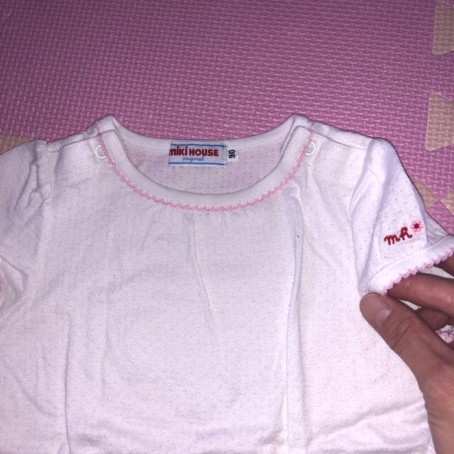mikihouse(ミキハウス)のミキハウスワンピースセット90 キッズ/ベビー/マタニティのキッズ服女の子用(90cm~)(ワンピース)の商品写真
