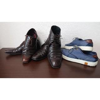 BURBERRY - 革靴 スニーカー セット