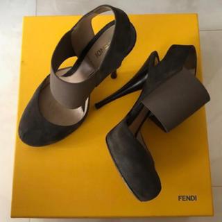 フェンディ(FENDI)のFENDI フェンディ ハイヒール パンプス サンダル ブーティ 37(ハイヒール/パンプス)