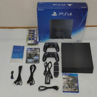 PlayStation4 - PS4 CUH-1200A B01 JET BLACK 色々セット