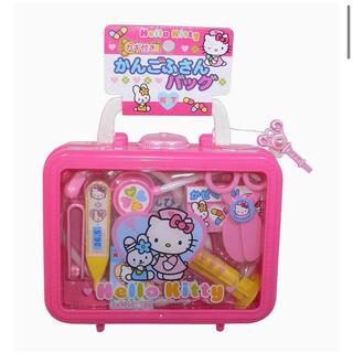 ハローキティ(ハローキティ)の新品未開封 ハローキティ かんごふさんバッグ ままごと おもちゃ(知育玩具)