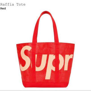 Supreme - Supreme raffia tote トートバッグ