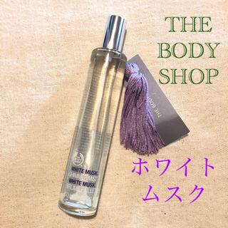 ザボディショップ(THE BODY SHOP)のTHE BODY SHOP ホワイトムスク シマーミスト(香水(女性用))