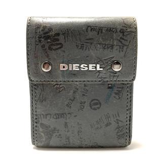 ディーゼル(DIESEL)のディーゼル 3つ折り財布 ダークグレー(財布)