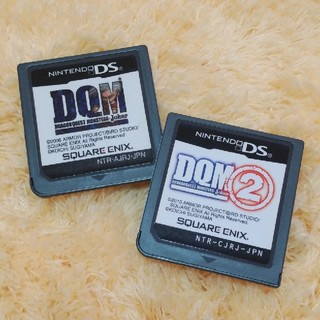 ニンテンドーDS(ニンテンドーDS)の任天堂DSドラゴンクエスト DQM・DQM②(携帯用ゲームソフト)