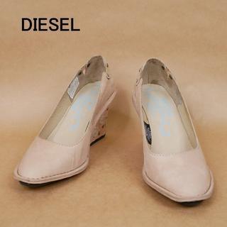 ディーゼル(DIESEL)の未使用 DIESEL ディーゼル 24cm 革 ハイヒール(ハイヒール/パンプス)