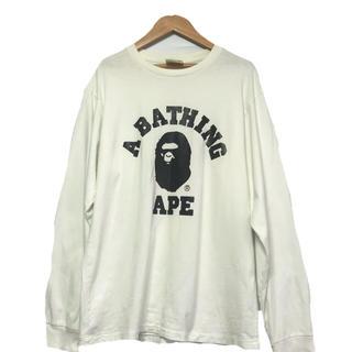 アベイシングエイプ(A BATHING APE)のアペイシングエイプ ロング Tシャツ(Tシャツ(長袖/七分))