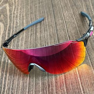Oakley - ◆オークリー EVゼロ ストライド◆ポジティブレッド ミラー サングラス