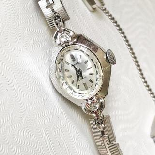 オリエント(ORIENT)のアンティークウォッチ ハート型ケース オリエント 21石 美品(腕時計)