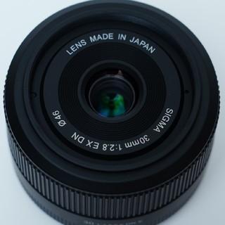 シグマ(SIGMA)のSIGMA シグマ 30mm f2.8 EX DN SONY ソニー(レンズ(単焦点))