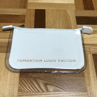 LOUIS VUITTON - パリ限定 フォンダシオン ルイヴィトン ポーチ ホワイト ルイヴィトン美術館