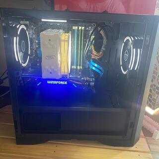 エイスース(ASUS)のゲーミングpc 中古 (デスクトップ型PC)