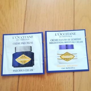 ロクシタン(L'OCCITANE)の新品未使用★ロクシタン クリーム2種類(フェイスクリーム)