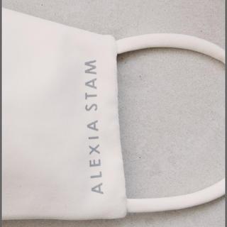 ALEXIA STAM - アリシアスタン alexia stam  cotton コットン 白