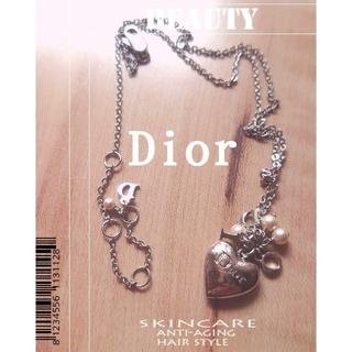 クリスチャンディオール(Christian Dior)の❤ChristianDior✰*Pearl.Heartネックレス( *´꒳`*)(ネックレス)