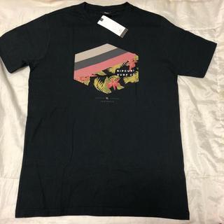 ラスティ(RUSTY)の新品タグ付き☆Rip Curl半袖TシャツM黒リップカールボルコムビラボン(Tシャツ/カットソー(半袖/袖なし))