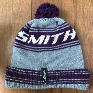 スミス(SMITH)のスミス ニット帽 キャップ ビーニー(ニット帽/ビーニー)