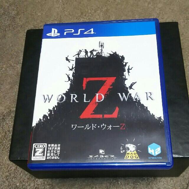 PlayStation4(プレイステーション4)のワールド・ウォーZ★日本語版 エンタメ/ホビーのゲームソフト/ゲーム機本体(家庭用ゲームソフト)の商品写真