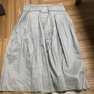 マリクレール(Marie Claire)のMarie claireのプリーツスカート(ひざ丈スカート)