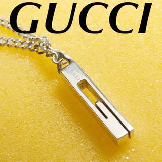 Gucci - 美品 GUCCI Gモチーフネックレス