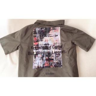 WEGO - 【WEGO】バックプリントシャツ