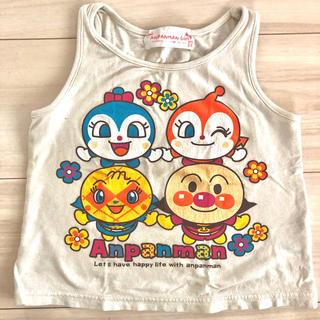 バンダイ(BANDAI)の子供服 キッズ アンパンマン タンクトップ 女の子 95cm(Tシャツ/カットソー)