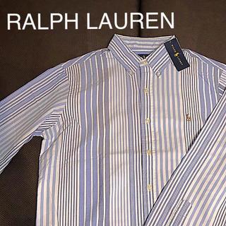 POLO RALPH LAUREN - ラルフローレン ストライプメンズシャツ 新品 定価¥14000