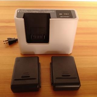 SHARP - シャープ コードレス 掃除機 バッテリー 充電器