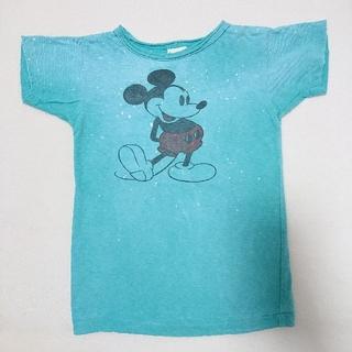 DENIM DUNGAREE - 197. DENIM DUNGAREE ミッキー Tシャツ  120
