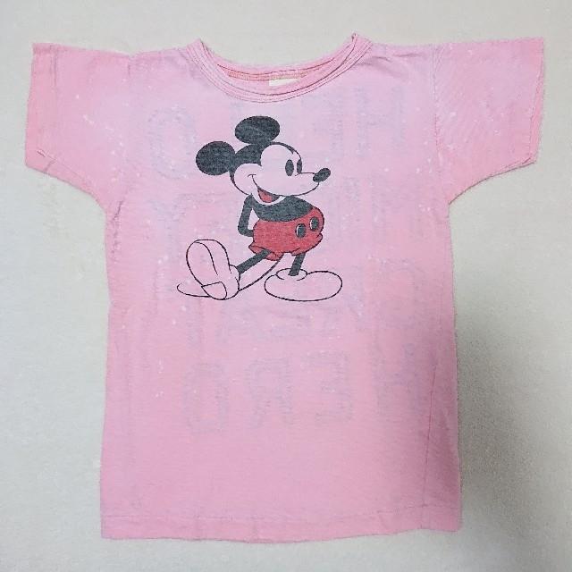 DENIM DUNGAREE(デニムダンガリー)の191. DENIM DUNGAREE ミッキー Tシャツ  120 キッズ/ベビー/マタニティのキッズ服男の子用(90cm~)(Tシャツ/カットソー)の商品写真