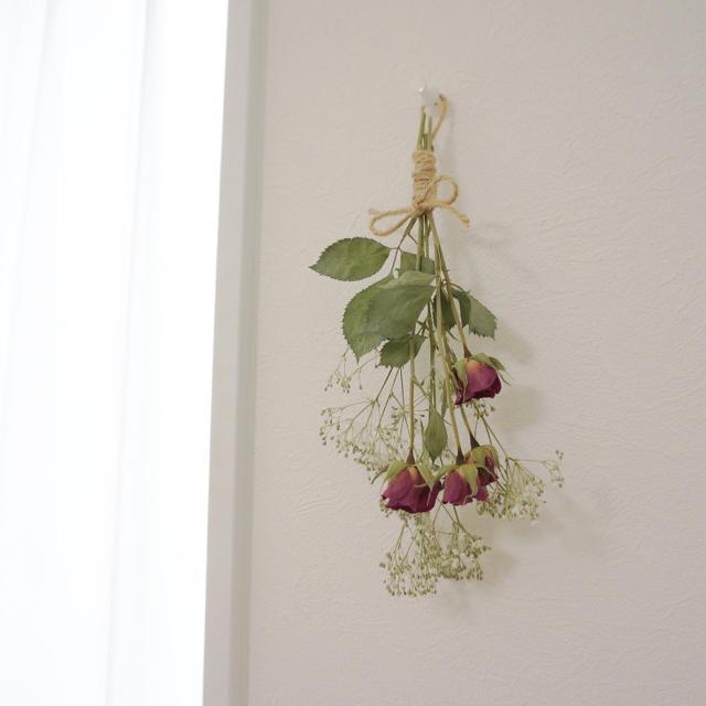 SWAROVSKI(スワロフスキー)のスワッグ  花束 ギフト プレゼント スワロ ハンドメイドのフラワー/ガーデン(ドライフラワー)の商品写真