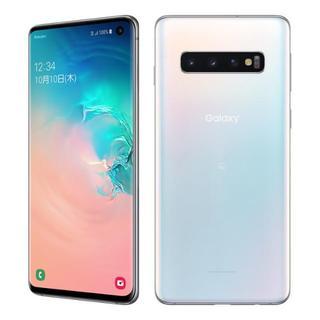 ギャラクシー(Galaxy)の【新品未使用】Galaxy S10 楽天モバイル対応 simフリー ホワイト(スマートフォン本体)