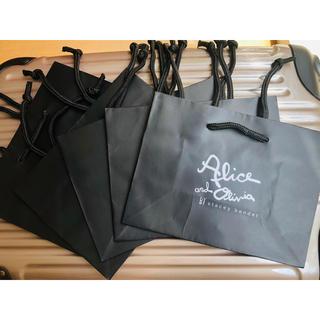 アリスアンドオリビア(Alice+Olivia)のアリス+オリビア ショップ袋  5枚  alice+olivia(ショップ袋)