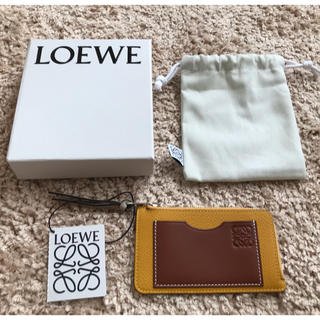 LOEWE - 新品 LOEWE ロエベ コイン&カードホルダー ミニ財布