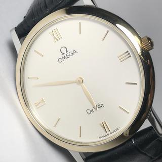 オメガ(OMEGA)の美品◆OMEGA De Ville◆オメガ  アンティーク腕時計 電池交換済(腕時計(アナログ))