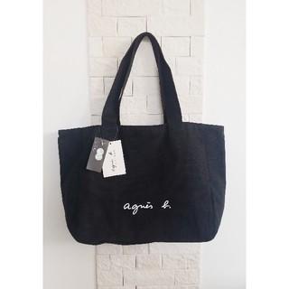 agnes b. - 【新品タグ付】アニエスベー トートバッグ ブラック A4サイズ収納可