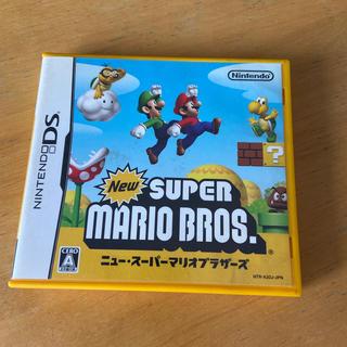 ニンテンドーDS(ニンテンドーDS)のNew スーパーマリオブラザーズ DS(携帯用ゲームソフト)