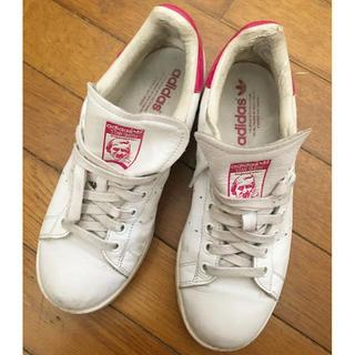 adidas - adidas アディダス スタンスミス クロコ 限定 ピンク レザー 24.5