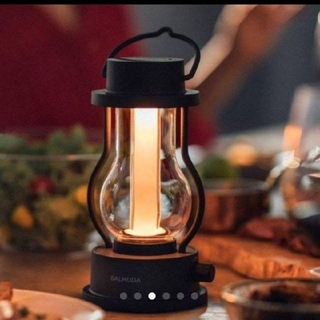 バルミューダ(BALMUDA)の新品未使用BALMUDA The Lantern 黒 バルミューダ ランタン(ライト/ランタン)